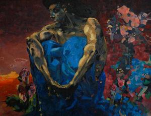 Demon copy Valeriia Kharlamova's art work