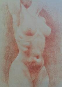 nude 3 Valeriia Kharlamova's work