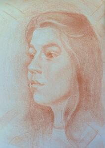 Self Portrait Valeriia Kharlamova